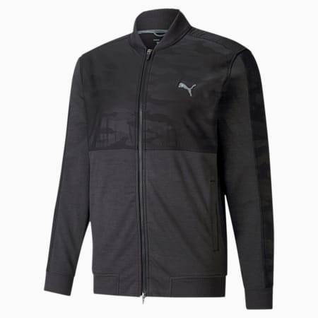 CLOUDSPUN Stealth Camo Men's Golf Jacket, Puma Black, small-IND