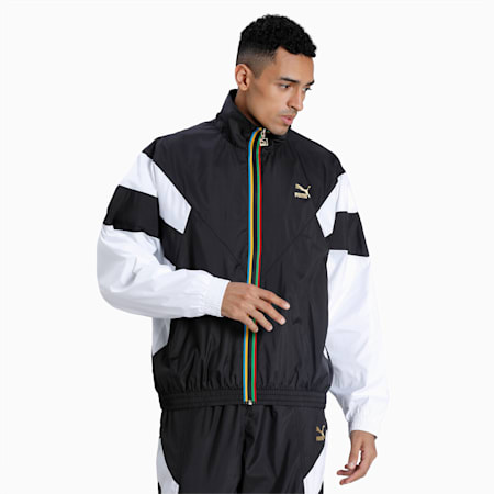 Blouson de survêtement THE UNITY COLLECTION pour homme, Puma Black, small