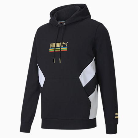 The Unity Collection TFS Men's Hoodie, Puma Black, small-IND