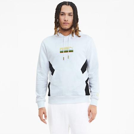 Męska bluza z kapturem TFS z kolekcji Unity, Puma White, small