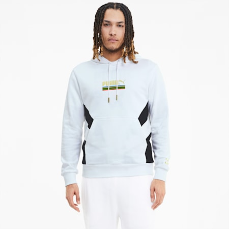 Tailored for Sport WH Men's Hoodie, Puma White, small