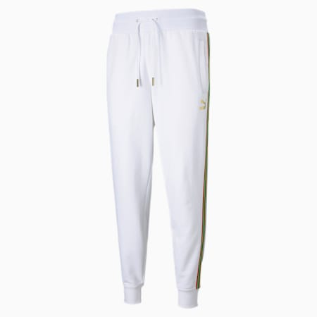 The Unity Collection TFS Men's Track Pants, Puma White, small-IND