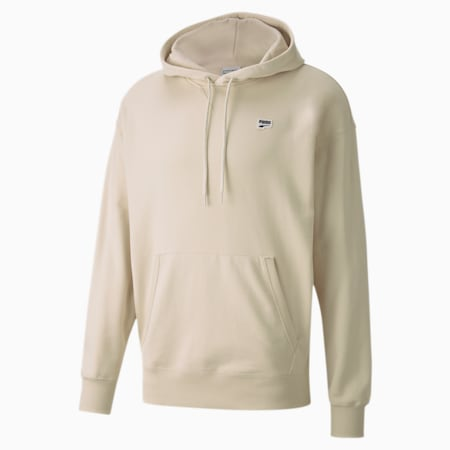 Downtown Men's Hoodie, Birch, small
