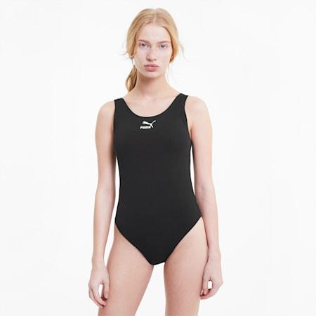 Classics Women's Sleeveless Bodysuit, Puma Black, small