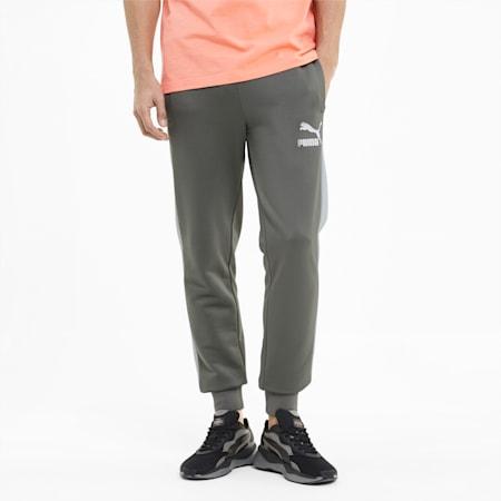 Pantalones deportivos Iconic T7 para hombre, Ultra Gray, pequeño