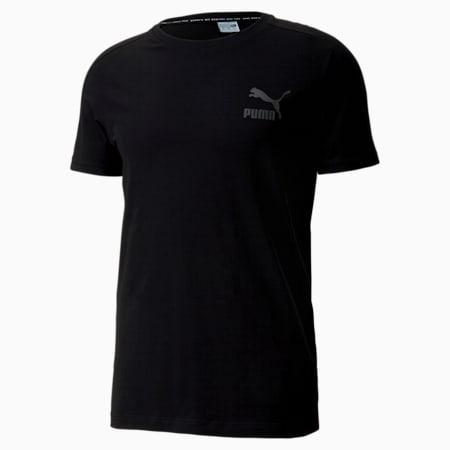 Iconic T7 Slim Men's T-Shirt, Puma Black, small-IND