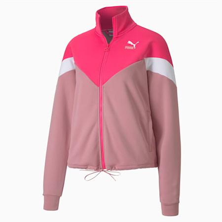 Classics MCS Women's Track Jacket, Glowing Pink, small