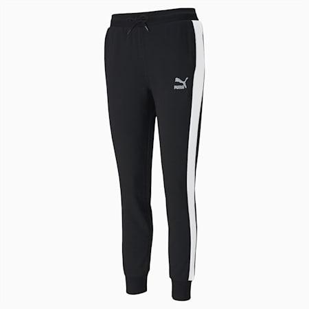 Classics T7 Women's Track Pants, Puma Black, small-SEA