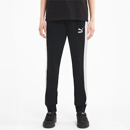 Pantalones deportivos ClassicsT7 para mujer, Puma Black, pequeño