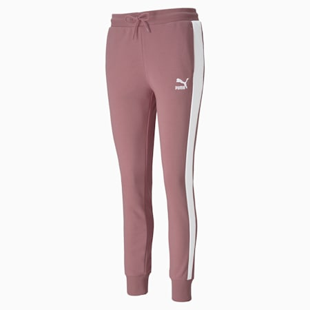 Classics T7 Women's Track Pants, Foxglove, small-SEA