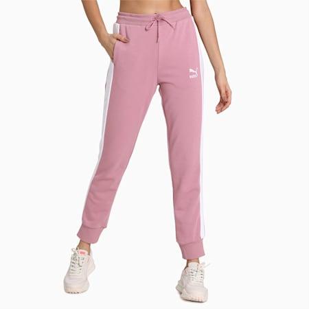 Pantalon de survêtement Classics T7, femme, Pourpre, petit