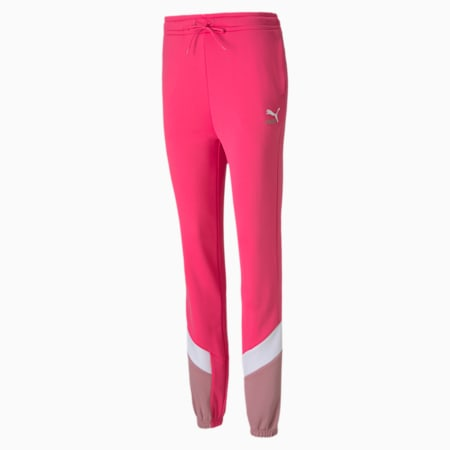 Classics MCS Women's Track Pants, Glowing Pink, small