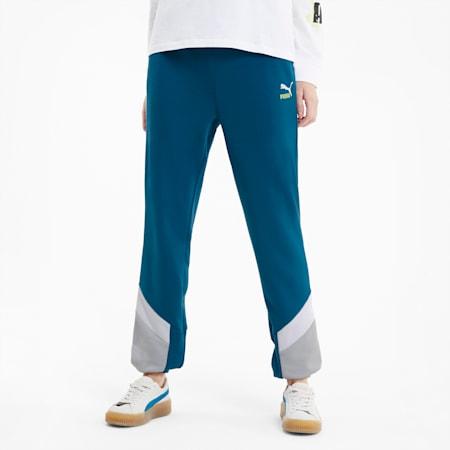 Classics MCS Women's Track Pants, Digi-blue, small