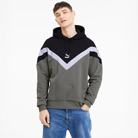 Iconic MCS Men's Hoodie, Ultra Gray, small