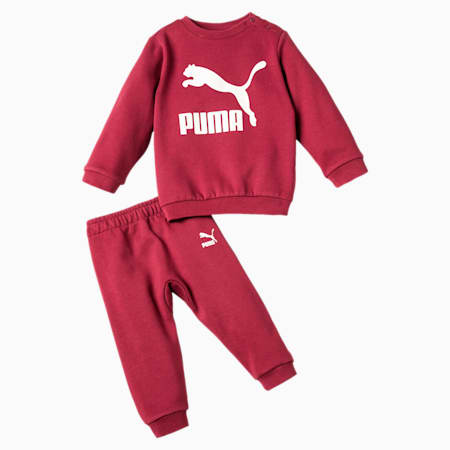 Street Wear Babies' Jogger Set, Pomegranate, small