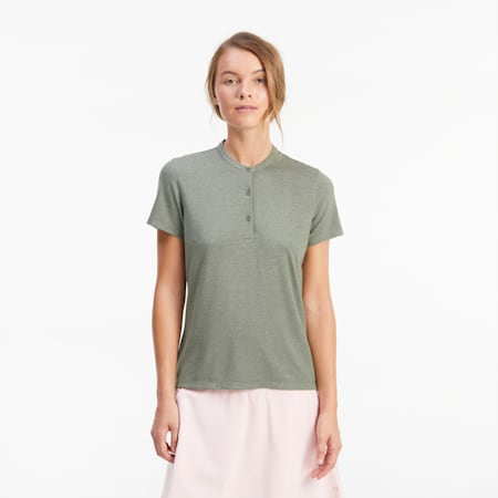Essence Damen Golf-Poloshirt, Thyme Heather, small