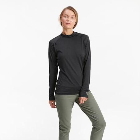 Golf ondershirt dames, Puma Black, small