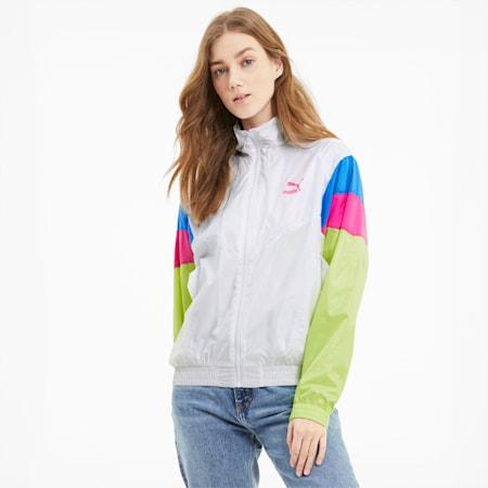 TFS Woven Women's Track Jacket, Puma White, small