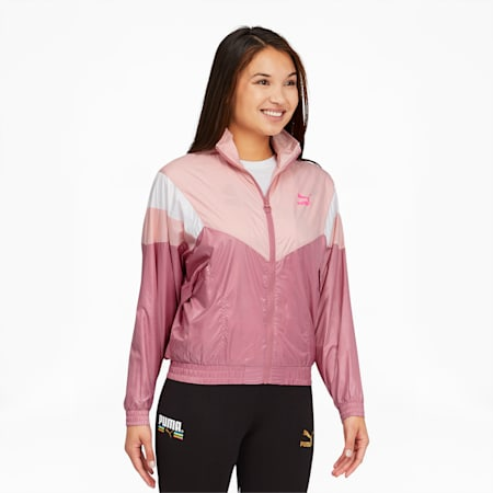 Tailored for Sport Women's Track Jacket, Foxglove, small