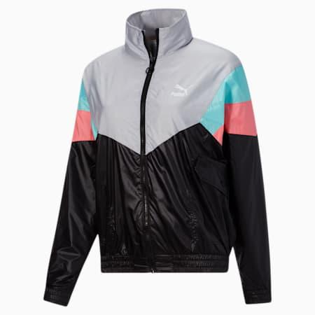 Tailored for Sport Women's Track Jacket, Puma Black-multi, small