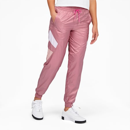 Tailored for Sport Women's Track Pants, Foxglove, small