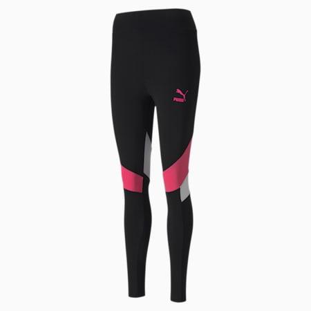TFS Graphic Damen Leggings, Puma Black, small