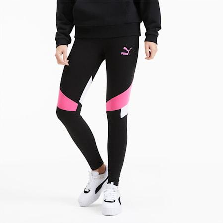 TFS Graphic Women's Leggings, Puma Black, small