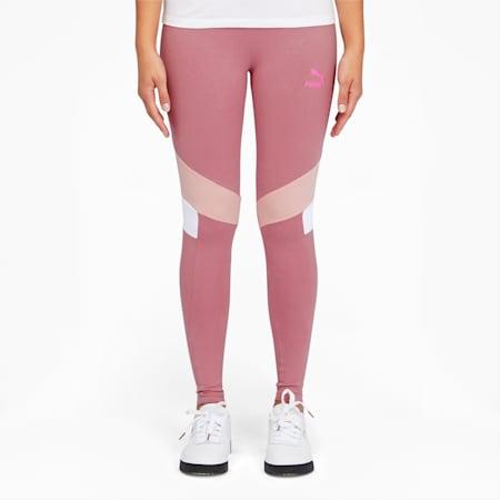 Tailored for Sport Women's Graphic Leggings, Foxglove, small