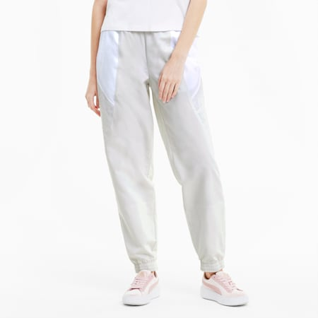 Tailored for Sport Women's Track Pants, Vaporous Gray, small