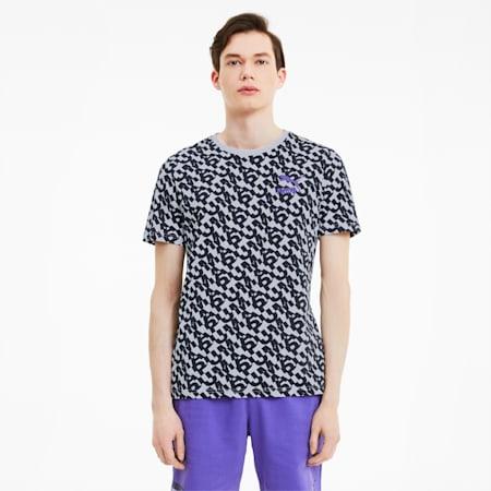 Camiseta Classics AOP con estampa para hombre, Puma White, pequeño
