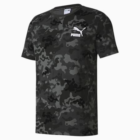 CLASSICS グラフィック AOP ロゴ 半袖 Tシャツ, Ultra Gray, small-JPN