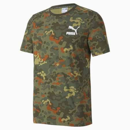 Classics Graphics Printed Men's Tee, Forest Night, small-GBR