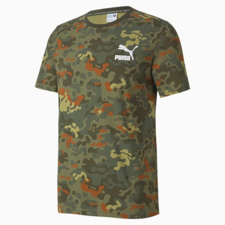 Classics Men's Graphic AOP Tee, Forest Night, small