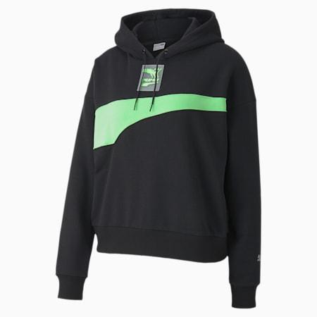 Sweatshirt à capuche Evide pour femme, Puma Black, small