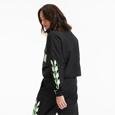Evide Woven Women's Track Jacket, Puma Black, small