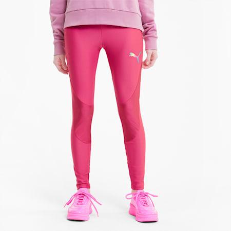 Evide Women's Leggings, Glowing Pink, small