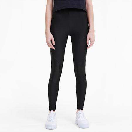 Evide Women's Leggings, Puma Black-pink, small