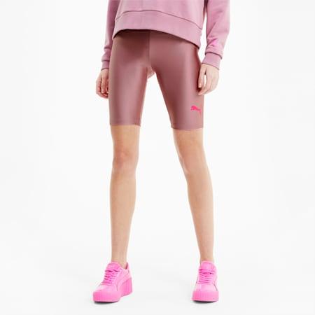Shorts de ciclista Evidepara mujer, Foxglove, pequeño
