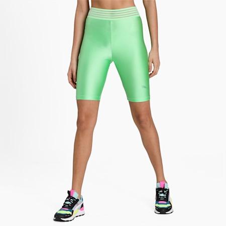 Evide Women's Biker Shorts, Summer Green, small