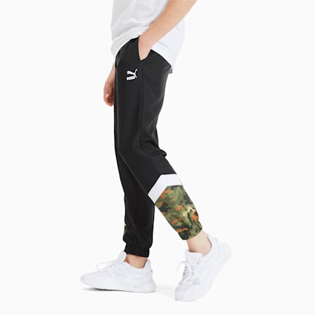 Pantalones para hombre Classics Graphic MCS, Puma Black, small