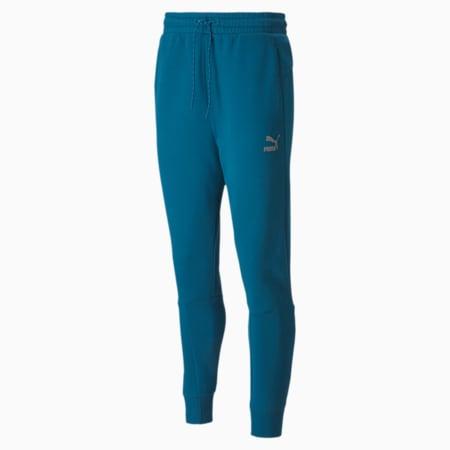 Classics Tech Men's Sweatpants, Digi-blue, small