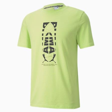 Camiseta estampada Avenir para hombre, Sharp Green, pequeño