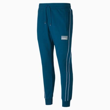 Avenir Men's Track Pants, Digi-blue, small