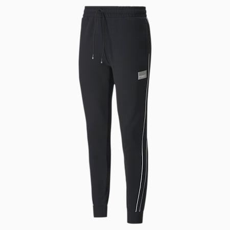 Avenir Men's T7 Men's Track Pants, Puma Black, small