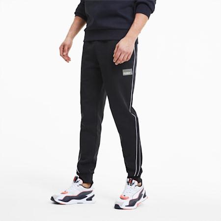 Męskie spodnie dresowe Avenir Men's T7, Puma Black, small
