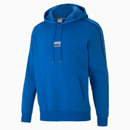 Avenir Men's Hoodie, Lapis Blue, small