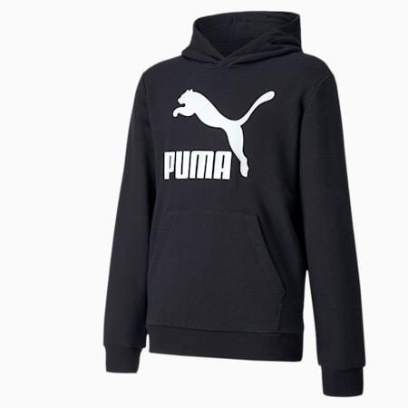 Młodzieżowa bluza Classics z kapturem, Puma Black, small