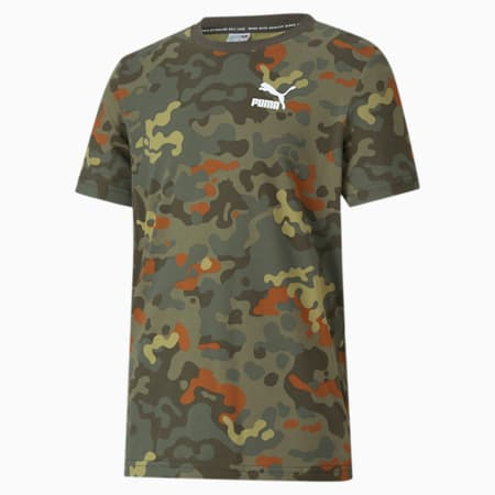Classics Graphic Youth Tee, Forest Night, small