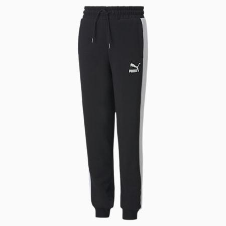 Pantaloni da tuta Iconic T7 da ragazzo, Puma Black, small