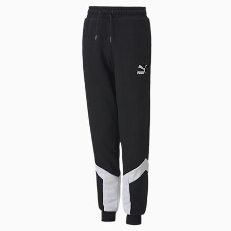Pantalón de chándal para jóvenes Iconic MCS, Puma Black, small